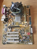 Placa Base asus Micro Y Memoria Ram - foto