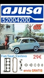 Fiat seat 600 zastava 750 juego juntas - foto