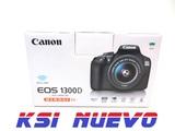 Camara de fotos reflex canon eos 1300d - foto