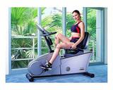 bicicleta reclinable, bicicleta estatica - foto