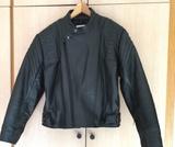 chaqueta moto cuero piel - foto