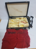 Antiguo maletin original pistola unique - foto