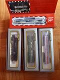 Locomotoras y vagones (escala H0) - foto