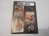 un dvd con 3 películas, cine del oeste - foto