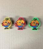 3 sacapuntas naranjito - foto