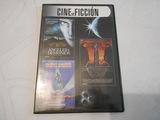 un dvd con 3 películas, cine de ficción - foto