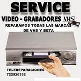Reparacion video vhs y beta - foto