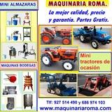 MINI TRACTORES.  ALMAZARAS, MAQUINAS VINO - foto