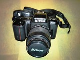 CÁmara fotogrÁfica analÓgica nikon f601 - foto