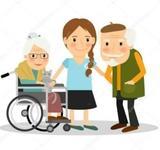 Cuidadora para personas mayores - foto