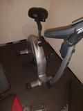 Vendo pesas, bicicleta estática y banco - foto