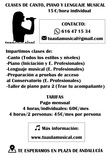 CLASES ONLINE DE CANTO,  PIANO Y MÚSICA - foto
