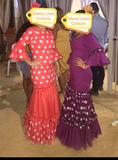 Se hacen trajes de flamenca a medida - foto