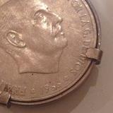 Monedas 100 ptas 1966 - foto