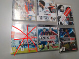 Lote 6 juegos fútbol PS3 PES Y FIFA - foto