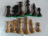 Fichas ajedrez madera - foto