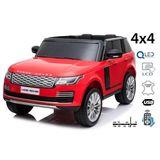 Range Rover rojo Eléctrico de batería - foto