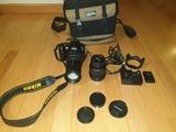 Nikon d60 con objetivos - foto