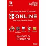 Nintendo Switch online 1 año - foto