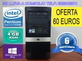 Ordenador dual core 4 gb ram 250 gb hdd - foto