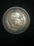 moneda 1 peseta 1953 - foto