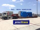 Transporte de contenedores flatrack - foto