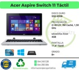 Acer Aspire Táctil con ssd - foto
