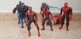 Muñecos spiderman articulados - foto