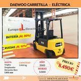 CARRETILLA ELEVADORA ELECTRICA DAEWOO - foto