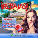 Botox completo+aumento de labios 360 - foto
