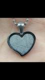 Meteorito Muonionalusta Corazón - foto