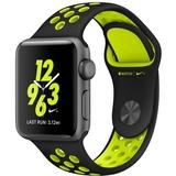 Apple Watch S2 Nike+ 38mm negro y verde - foto