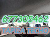 Reparar techo coche asientos volantes - foto