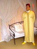 traje chilaba tunica marroqui de hombre - foto