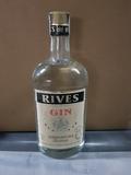 Botellas antigüas gin Rives - foto