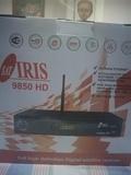 Receptor satélite Sat Iris 9850 HD. - foto