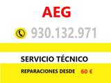 Servicio tecnico aeg hospitalet llobrega - foto