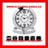 8  Reloj Sobremesa Camara Espia HD - foto