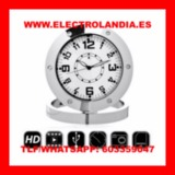 Z  Reloj Sobremesa Camara Espia HD - foto