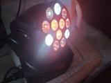 mini cabeza giratoria led . - foto