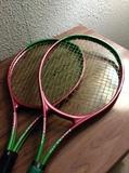 Raquetas de tenis o frontón,2,con funda, - foto