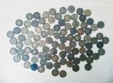 Monedas 1 peseta 1947 Franco - foto