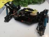 2 coches radiocontrol gasolina - foto