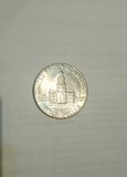 Preciosa moneda Half Dollar - foto