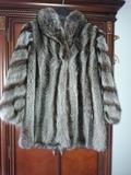 Abrigo de piel de marmota - foto