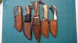 Cuchillo de monte artesanal - foto