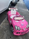 coche de batería rosa - foto