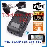 It08hn cÁmara espia wifi cargador mÓvil - foto