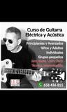Curso de guitarra eléctrica y acústica - foto