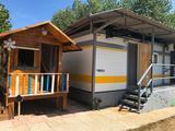 Movil Home instalado en camping - foto